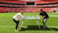 First all-female Subbuteo set promotes women's soccer