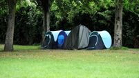 Woman who died in tent 'recently homeless'