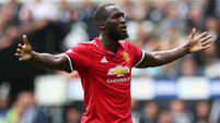 No rest for in-form Lukaku, says Jose Mourinho