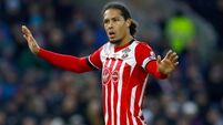 Southampton may call Virgil van Dijk to stop Red tide