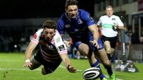 Leinster net bonus point with late tries