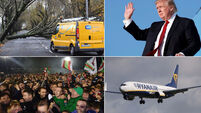 MORNING BULLETIN: Thousands still without electricity and water; Ryanair rehires pilots boss