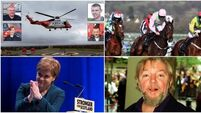 MORNING BULLETIN: Bad weather may hamper search for missing Rescue 116 crew