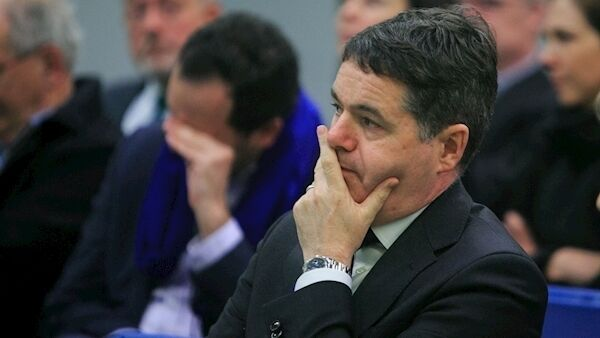 Fine Gael's Paschal Donohoe