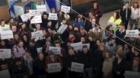 UCD students protest planned rent hikes at 'most expensive on-campus accommodation' in Ireland
