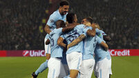 Double for John Stones as Pep's sensational City run riot in Rotterdam victory