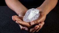 Tennis ball-sized Lesedi diamond sold for $53m