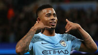 Sterling and Jesus send super Man City racing clear