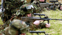 'Lack of officers sees battle training curtailed'
