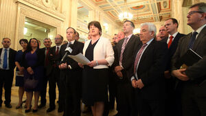 Foster to seek direct rule if Stormont not restored