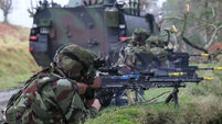Video: Army training at the Glen of Imaal