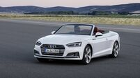 New Audi A5 Cabriolet is on the way