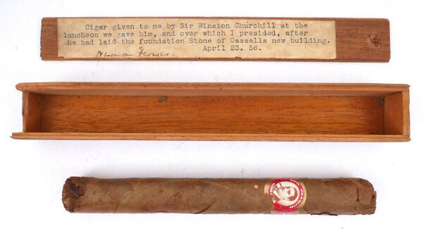Winston Churchill's cigar