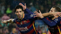 Suarez seeking a miracle as Barcelona prepare for PSG