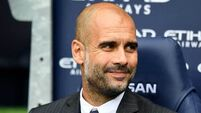 Pep Guardiola talks up Man City's title challenge