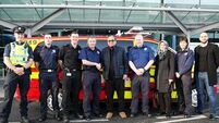 Cardiologist praises Dublin Airport first responders who saved his life after 17 minutes down