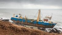 Inside MV Alta: The ghost cargo ship which lies on the rocks in Ballycotton