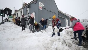 Thousands lack power or water after Storm Emma