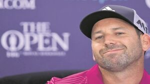 Sergio Garcia admits he's still tending to Open wounds
