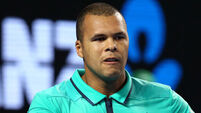Home hero Tsonga's late-night heroics in vain