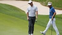 Rory McIlroy in a dogfight after slip-up in Texas