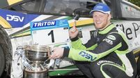 Younger Moffett brother wins Enniskillen rally