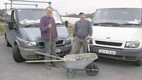 The Ford Transit proves a reliable vehicle for this Corkman's horticultural work