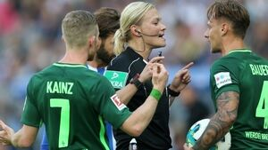 German Steinhaus becomes first woman to ref in football's big league