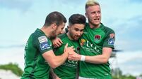 Sean Maguire runs riot at Oriel Park