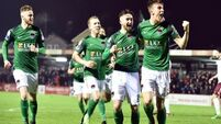 Sean Maguire helps Cork City to 4-0 win over Galway