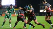 Dragons burn limp Connacht