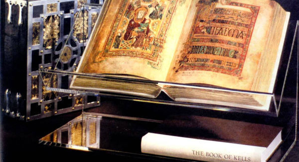 890,781 people visited The Book of Kells last year.