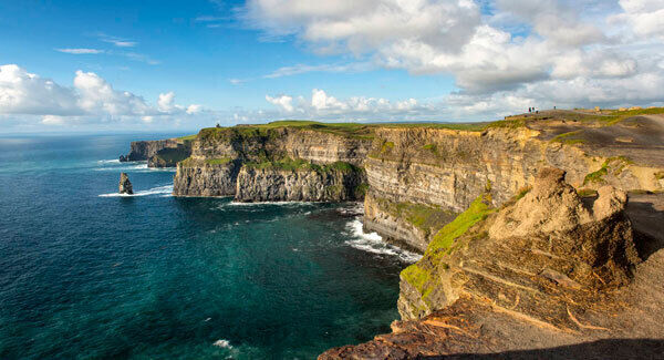There was a whopping 14% rise in the number of visitors to the Cliffs of Moher, which is Ireland's second most popular attraction.