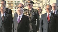 Human rights and history fills President Higgins first day in Cuba