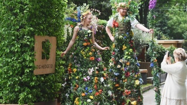Brexit hits the Chelsea Flower Show