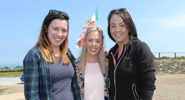 Katie Hegarty, Skibbereen, Teresa McCarthy and Amy Burke, Clonakilty, at the opening. Picture: Dan Linehan