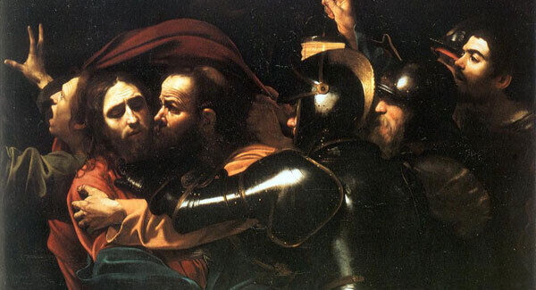 Caravaggio's The Taking of Christ, c 1602. Picture: National Gallery of Ireland