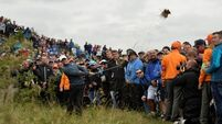 'Ecstatic' Rory McIlroy remains in the hunt at Royal Birkdale