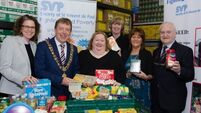 Food hampers for 2,000 needy Cork families