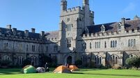 UCC students protesting against rent hikes believe they'll be camped for another week