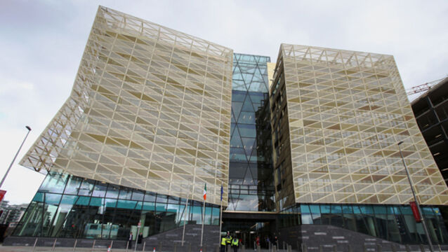 Bank of Ireland's new Dublin headquarters