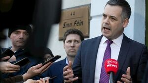 Pearse Doherty leading Sinn Féin negotiations as parties look to form Govt