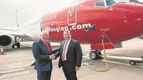 Up, up and away for Cork airport's historic take-off