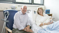 Joint undertaking as hip couple go under knife
