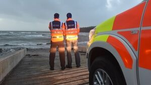 Ophelia: Islanders off Cork warn of crisis as power cut to storm gates