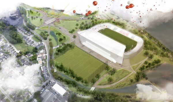 The redeveloped Páirc Uí Chaoimh GAA stadium will be the centre of the riverside sports, adventure, and ecology park.