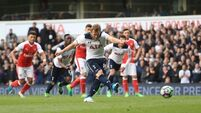 CHRIS HATHERALL: Arsenal stuck in the slow lane as sizzling Spurs roar past