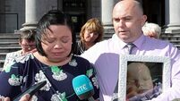 Parents 'brought firstborn son home in a tiny white coffin'