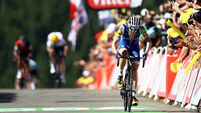 Dan Martin closes on yellow jersey after gutsy Tour de France display