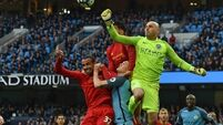 Aguero comes to rescue as City fight back